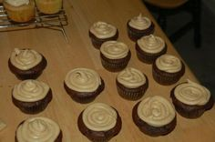 Peanut Butter Frosting...made this yesterday to frost Reese stuffed cupcakes...absolutely delicious!!