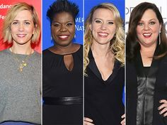While The Hollywood Reporter says Melissa McCarthy has signed on for the film, her rep tells Us Weekly she too is still in negotiations.  Funniest female stars  According to The Hollywood Reporter, the remaining three ladies are expected to sign on soon to round out the foursome, who will take over the roles made famous by Bill Murray, Dan Aykroyd, Harold Ramis, and Ernie Hudson.  Feig came on board and decided on an entirely new take on the iconic film following original director Ivan…