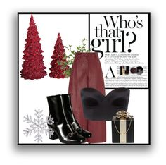 """who's that girl"" by redapplecigarettes ❤ liked on Polyvore featuring Dot & Bo, Barbara Casasola, Ultimo, Gucci, Kate Spade, Chanel, Diane James and holidaystyle"