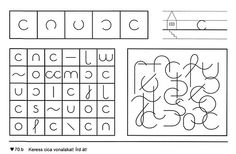 Fejlesztés - Kiss Virág - Picasa Webalbums Computer Keyboard, Words, Therapy, Activities For Kids, Patterns, Children, Kindergarten, Computer Keypad, Keyboard