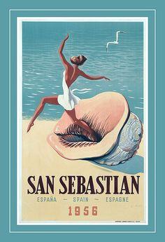 San Sebastian beach