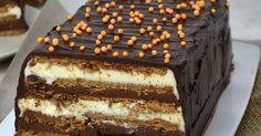 Un deliciosa tarta de dos chocolates sin horno ¿Te vas a poder resistir?