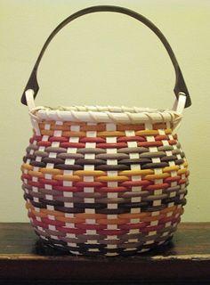 Round Swing Handle Basket