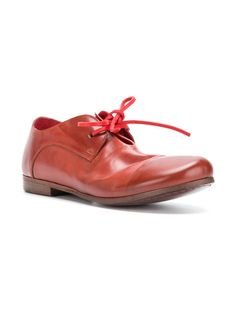 Marsell Shoes Open Toe Leather Oxford