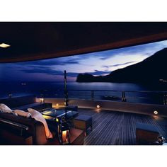 Yachts have this incredible way of framing the perfect view.... I.D Yacht