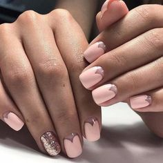 лунки на ногтях фото маникюра онлайн