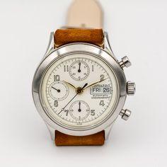 Hamilton Chronograph ref. Hamilton Logo, Vintage Watches, Design Elements, Chronograph, Vintage Fashion, Peace, The Originals, Elements Of Design, Antique Watches