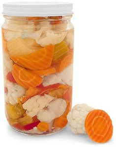 Oh My I will be making this, love pickled mixed vegetables...