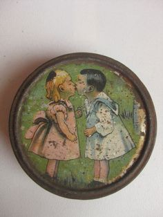 antique 1900 Russian sweets tin box in Collectibles, Advertising, Merchandise & Memorabilia | eBay