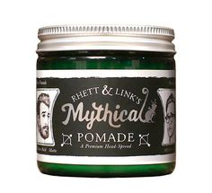 Meticulously developed by Rhett & Link, the Mythical Pomade is a medium hold matte, premium head-spread. It sculpts your hair and gives it that full-bodied