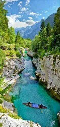 Rio Soca (Eslovenia)