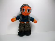 NEW!!  Maz Kanata -Star Wars inspired crochet character by pamcrafteduk on Etsy