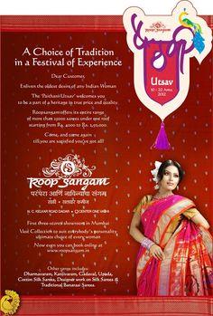 Paithani Utsav @ Roop Sangam Saree Showroom , Mumbai..  Upto 22nd april 2012