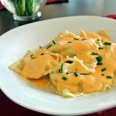 Gotta love my ravioli, especially when its stuffed with crab, gotta love seafood