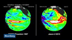 """Jacob Meisel, Bespoke Weather Services founder, and Mikhail Foux, Barclays Capital's municipal strategy head, discuss the effects of El Niño with Bloomberg's Alix Steel on """"What'd You Miss?"""" (Source: Bloomberg)"""