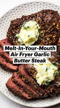 Air Fryer Oven Recipes, Air Frier Recipes, Air Fryer Dinner Recipes, Beef Recipes, Cooking Recipes, Healthy Recipes, Amazing Food Recipes, Greek Food Recipes, Best Food Recipes