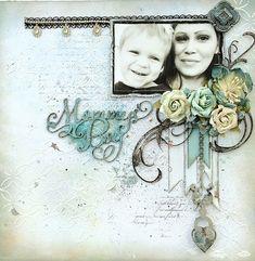 ~Blue Fern Studios~ Mommy's Boy - Scrapbook.com