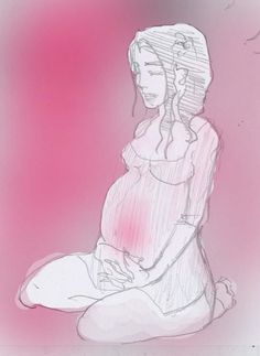 Pregnant lady by Wayword-Angel on deviantART