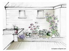 Ten landscaping tips for landscaping your garden - landscape Landscaping Tips, Garden Landscaping, Pool Designs, Permaculture, Garden Planning, Horticulture, Beautiful Gardens, Perennials, Home And Garden