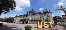 University Of Santo Tomas, Dream School, Louvre, Mansions, House Styles, Building, Places, Travel, Saints
