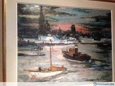Fauvism, Antwerp, Impressionism, Still Life, Portrait, Canvas, Painting, Color, Art