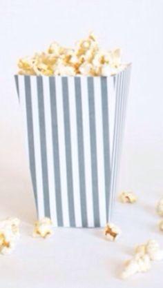 How to Make Printable Popcorn Boxes