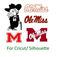 University of Mississippi Ole Miss Rebels Decal SVG Cut Files Instant Download by InsaneGraphics on Etsy https://www.etsy.com/listing/478431009/university-of-mississippi-ole-miss