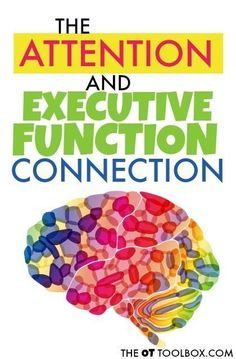 Attention and executive functioning skills are deeply connected. For the child with ADHD or ADD, executive functioning skills can interfere with school tasks, home, and daily functions. Adhd Strategies, Working Memory, Pediatric Ot, Executive Functioning, Sensory Processing Disorder, Adhd Kids, School Psychology, Learning Disabilities, Social Skills