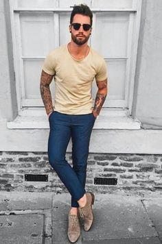 The Awesome Outfit Summer For Men Look Casual - Life Hack Men Street, Street Wear, Stylish Men, Men Casual, Casual Chic, Smart Casual, Mode Man, Style Masculin, Moda Blog