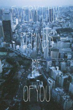 everything around me is u!