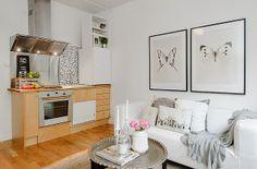 Jurnal de design interior -  Amenajare garsonieră 19 m²