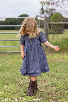 Sweet Lily Chambray Dress