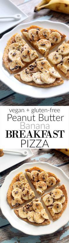Peanut Butter Banana Breakfast Pizza (Vegan + Gluten-Free)   Hummusapien
