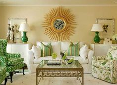 VERDE Y ORO [] GOLD AND GREEN INTERIORS