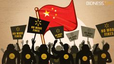 With local suppliers and retailers in China operating largely unchecked, Wal-Mart Stores, Inc. is fighting back against Chinese regulatory authorities for being continuously checked and fined for problems related to food safety
