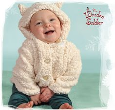 Baby Lamby Plush Coat