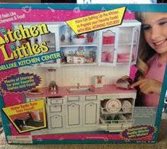 Barbie Kitchen Littles Deluxe Kitchen Center