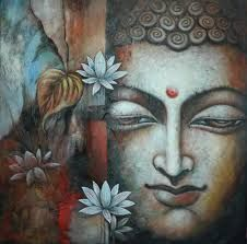 Image result for white buddha painting