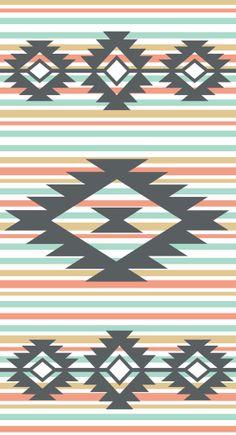 Santa Fe Crib/Cot Sheet  Aztec Crib Sheet  by CozybyJess on Etsy, $62.00