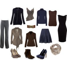 """deep seasons basic clothes"" by sabira-amira on Polyvore"