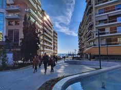 New old pics after a short break! So beautiful! City Photography, Mobile Photography, Greece Thessaloniki, Short Break, Greece Travel, Old Pictures, Sunny Days, Street View, Happy