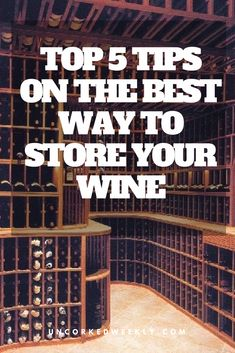 Today I'm going to share with you my top 5 tips on the best way to store wine in your home. When storing wines there are a couple of important points to pay attention to. Wine Temperature, Different Types Of Wine, Wine Searcher, Wine Guide, Wine Glass Holder, Wine Deals, Cheap Wine, Wine Delivery
