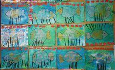 Des poissons!!! Les petits pêcheurs de l'école Lavoisier sont rentrés au port avec de belles prises. -