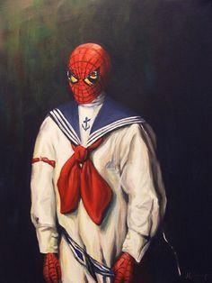 Spider Sailor by Hillary White