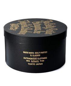 WACKO MARIA HAT BOX