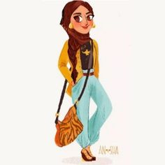 Canadian illustrator Anoosha Syed has reimagined Disney Princesses for the 21st century. She incorporated their personalities into their new looks, and paid homage to their movies with stylish clothing. Check them about below!
