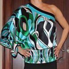 Bebe one shoulder kimono top size L . Bebe one shoulder kimono top size L . Beautiful top / used bebe Tops Blouses