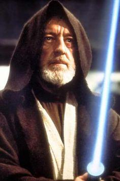 Alec Guinness as Obi Wan Kenobi in Star Wars / George Lucas Chewbacca, Ewok, Luke Skywalker, Mark Hamill, Carrie Fisher, Obi Wan, Star Wars Characters, Star Wars Episodes, Stargate