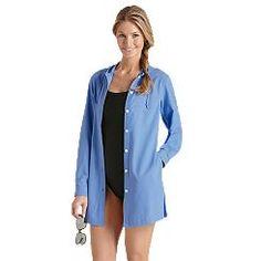 Beach Shirt: Sun Protective Clothing - Coolibar