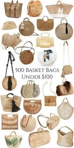 Monogram round large straw bag with double set of handles and 2 tassels, personalized round basket bag. This lovely and fun french market basket features : *Do Rattan, Unique Purses, Basket Bag, Summer Bags, Summer Purses, Vintage Chanel, Luxury Handbags, Basket Weaving, Straw Weaving